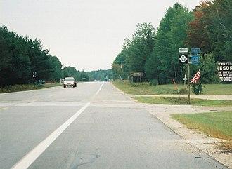 M-123 (Michigan highway) - Image: M123 H40