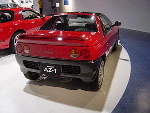 Autozam AZ-1 - Rear view