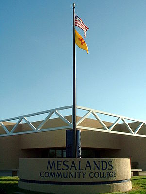 Mesalands Community College - Mesalands Community College main building