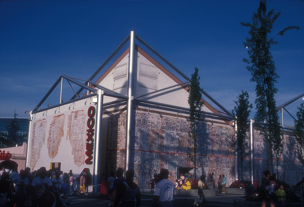 MEXICAN PAVILION AT EXPO 86, VANCOUVER, B.C.