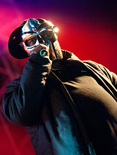 MF Doom hip hop artist from America