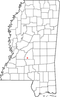 Location of Star, Mississippi