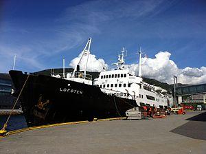 MS Lofoten in Bergen harbour.jpg