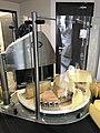 Machine à couper le fromage, Orgelet, Jura, France.JPG