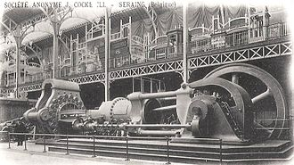 Blowing engine - Cockerill engine of 1900