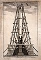 Machinery; plan and elevation of scaffolding erected to rais Wellcome V0024538EL.jpg