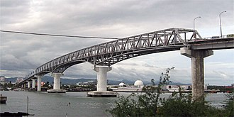 Mactan Channel - Mactan–Mandaue Bridge, as seen from Mactan Island