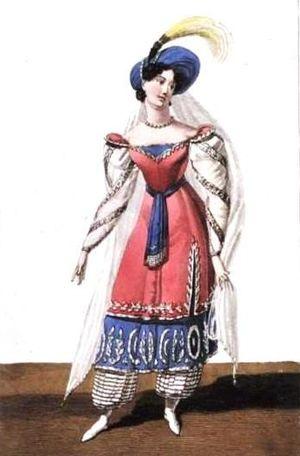 Ivanhoé - Mademoiselle Lemoule as Léila