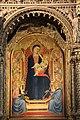 Madonna col bambino in trono di Bernardo Daddi,1.JPG