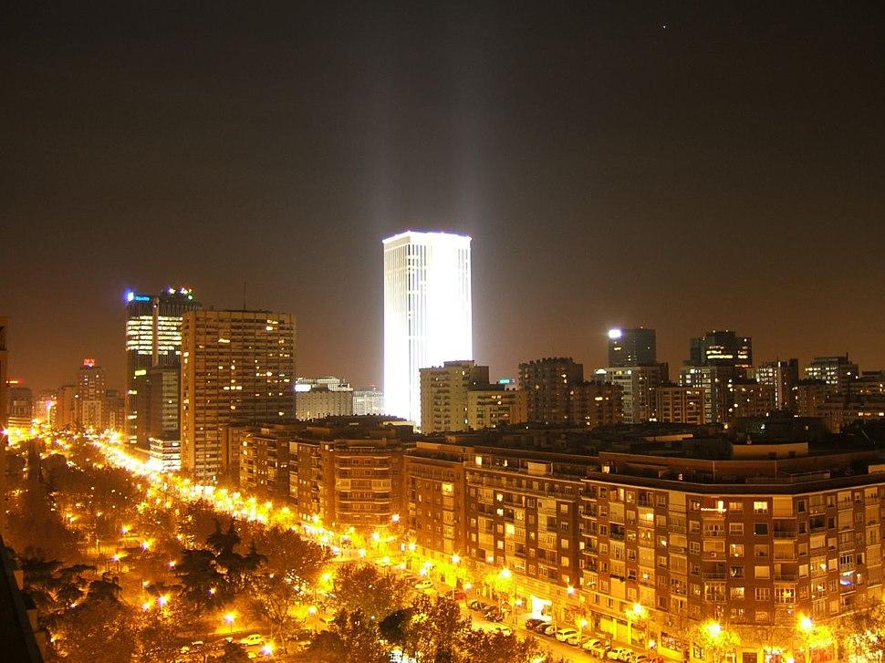 Madrid - Skyline desde Juan de Olías 01