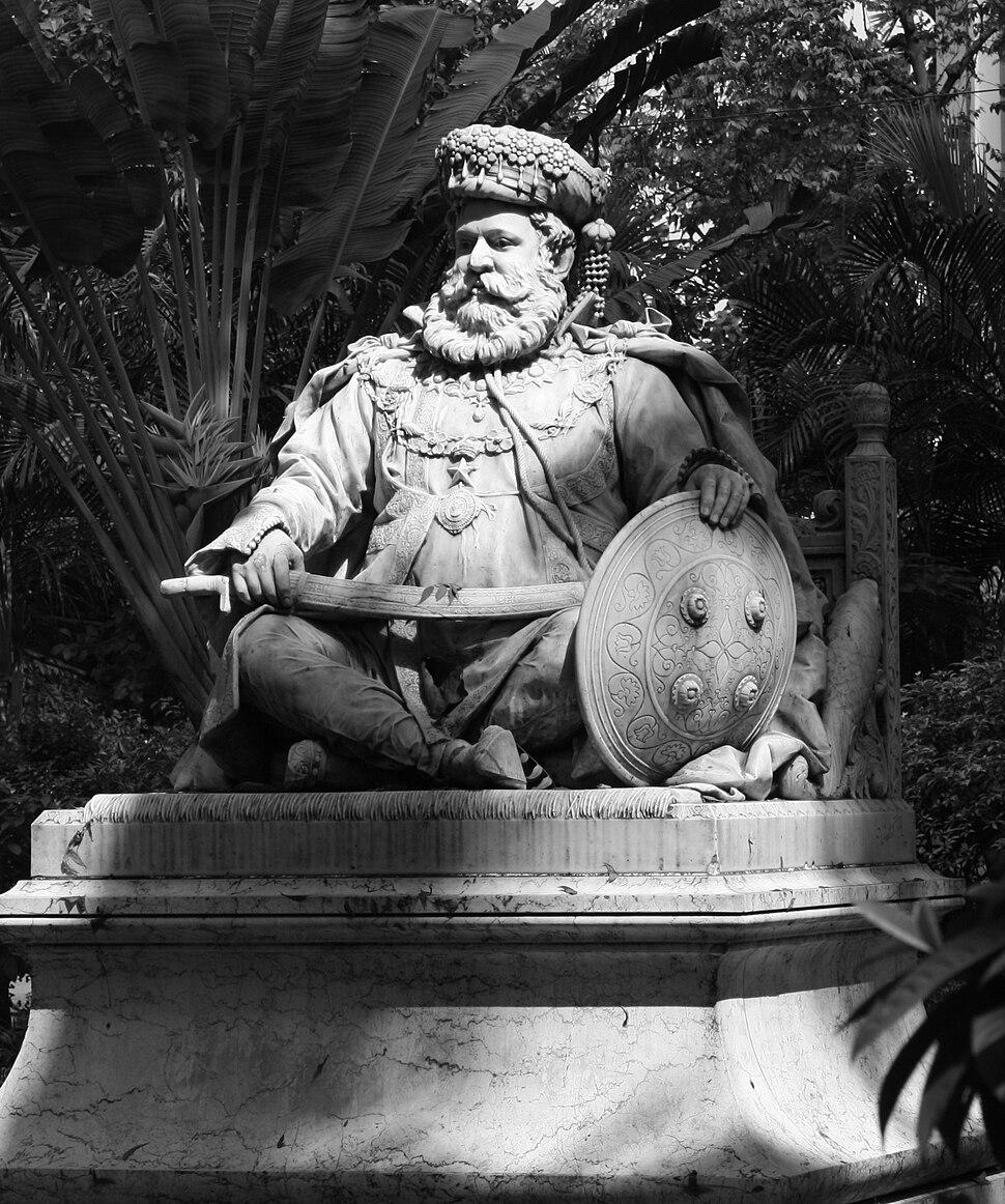 Maharaja Lakshmeshwar Singh statue - Kolkata