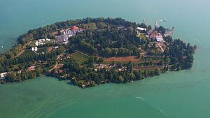 Mainau - Mainau, Aerial view