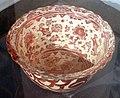 Maiolica ispano-moresca, bacinella a lustro, manises xviii secolo 01.jpg