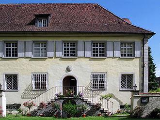Langenenslingen - House where Ernst Jünger lived