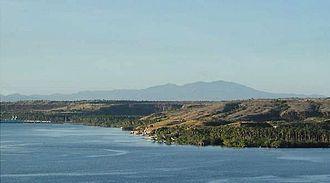 Celebes Sea - Celebes Sea on its northern border. Coastal area of Maitum, Sarangani