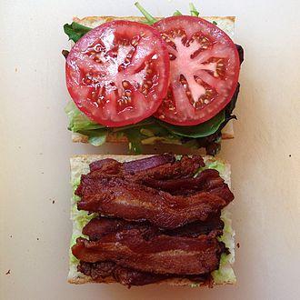 BLT - BLT sandwich preparation