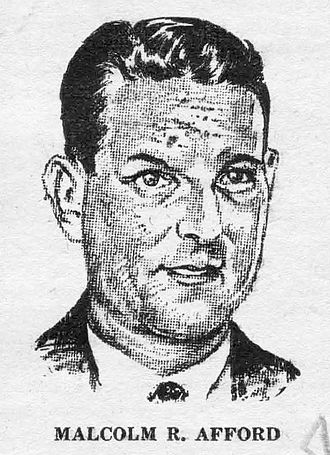 Malcolm Afford - Afford as depicted in Wonder Stories in 1931