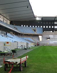 Swedbank Stadion under opførelse