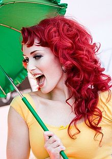 Mandi model redhead mandy