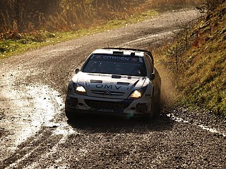 Wales Rally GB - Manfred Stohl driving a Citroën Xsara WRC at the 2007 Rally GB.