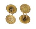 Manschettknappar, 1860-tal - Hallwylska museet - 109604.tif
