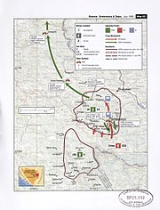Map 61 - Bosnia - Srebrenica & Zepa, July 1995