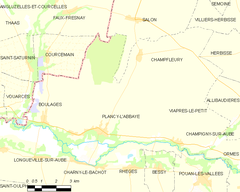 Map commune FR insee code 10289.png