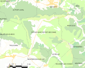 Map commune FR insee code 26276.png