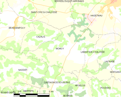 Map commune FR insee code 40188.png