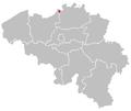 Map of Antwerpen in belgium.PNG