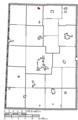 Map of Darke County Ohio Highlighting New Weston Village.png