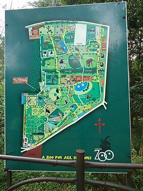 Map of Mysore Zoo.JPG
