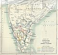 Map of Peninsular India to Illustrate the History of Mysore.jpg