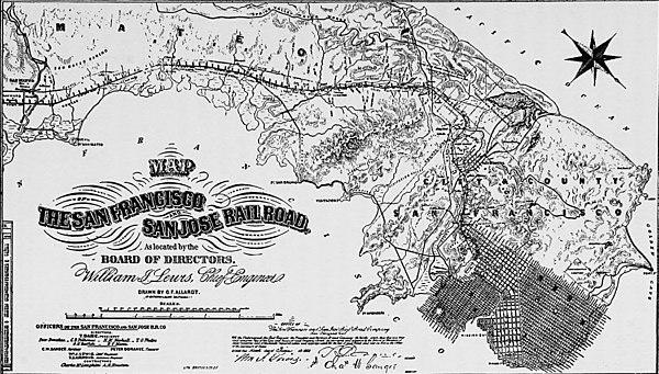 San Francisco and San Jose Railroad - Wikipedia