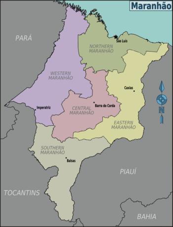 No Maranhão é assim: Porto do Itaqui - São Luís - MA