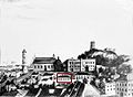 Marcelis Januškevičius. Vilniaus pilys iš pietų pusės. 1840.jpg