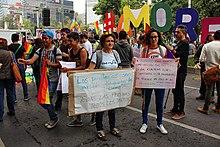 Senoras mexican gay street plaza
