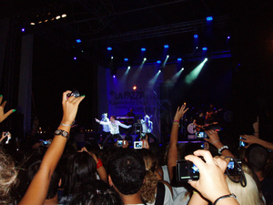 Re matto - Marco Mengoni during a concert in San Benedetto del Tronto