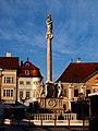 Mariánské sloup, Győr náměstí Szechenyi 2.jpg