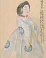 Maria Alexandrovna by Japanese doctor Takahashi Yūkei 1862.png