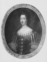 Portrait of Mary II of England