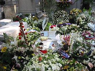 Marie Trintignant - Marie Trintignant's grave