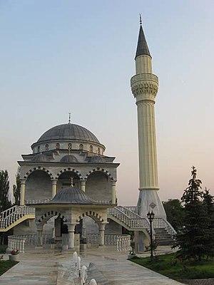 Islam in Ukraine - Sultan Suleiman Mosque in Mariupol.