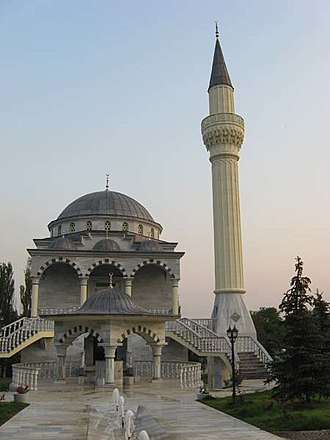 Islam in Ukraine - Sultan Suleiman Mosque in Mariupol.