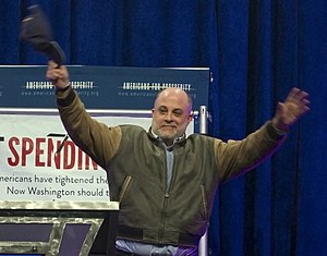 Americans for Prosperity - Political commentor Mark Levin at a Defending the American Dream event in 2007