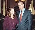 Mark Warner and Gloria Romero (142809895).jpg
