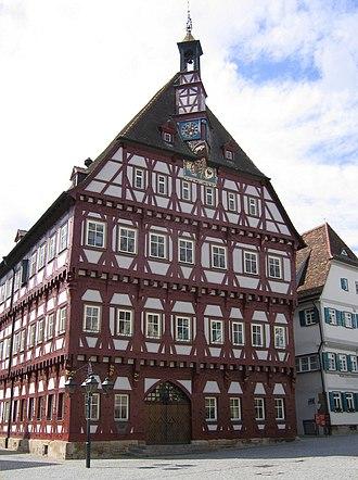 Markgröningen - Town hall
