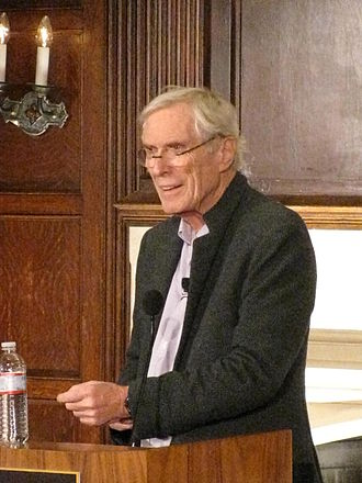Mark Strand - Strand at Georgetown University, 2012