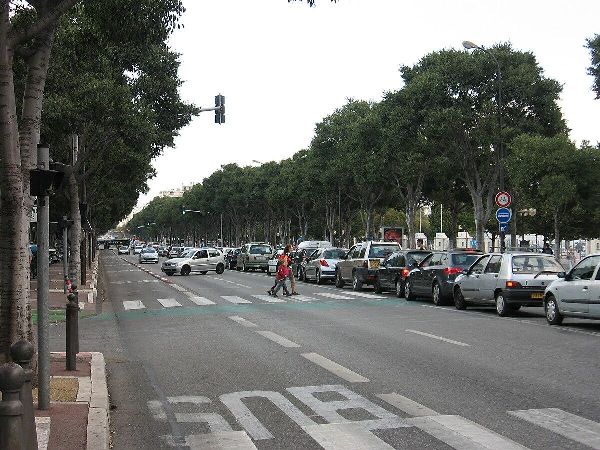 Avenue du prado wikip dia - Monoprix rond point du prado ...