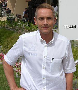 Martin Whitmarsh - Martin Whitmarsh at the 2006 Bahrain Grand Prix